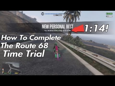 How To Complete The Route 68 Time Trial In Gta 5 Online