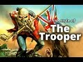 Iron Maiden 'The Trooper style Em Guitar Solo Backing Track (E minor 80s Heavy Metal)