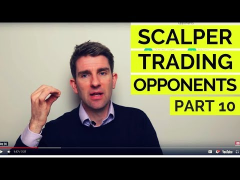 Scalping; Who Are You Trading Against!? Part 10 💨