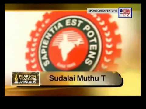 Hindustan University Pearson Teaching Award Ceremony Sudalai Muthu T