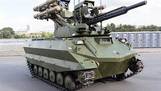 «Уран-9»: плюсы и минусы российского боевого робота