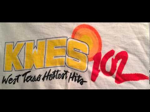 KWES 'The Hot 102 FM' Radio Composite 1986