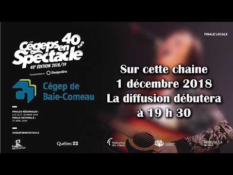 Cégeps en spectacle finale locale - Baie-Comeau