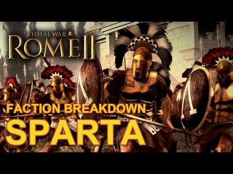 Total War: Rome II - Sparta - Faction Breakdown #1  