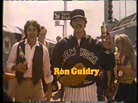 David Naughton & Ron Guidry 1979 Dr. Pepper Commercial