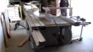Caslin Sliding Table Saw