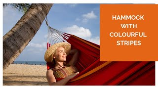 La Siesta Currambera - Hammock In Happy, Vibrant Colours