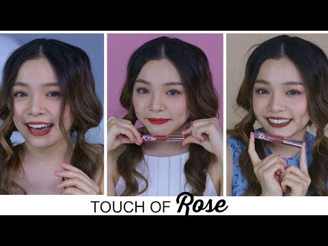 FULL SWATCH & REVIEW TOUCH OF ROSE by OFELIA ♡ TrinhPham