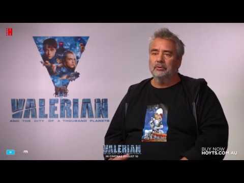 Valerian - Director Interview - Luc Besson