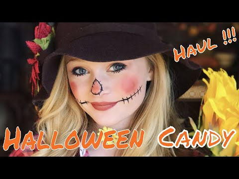 Halloween Candy Haul with Princess Ella and Playdoh Girl from Fun Factory