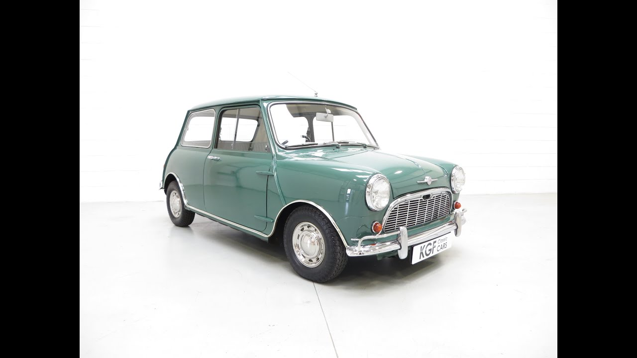 Impeccable Morris Mini Minor Super De Luxe With Only 36 584 Miles And Low Owners Sold