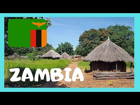 ZAMBIA: EXPLORING the AFRICAN TRADITIONAL VILLAGE of MUKUNI