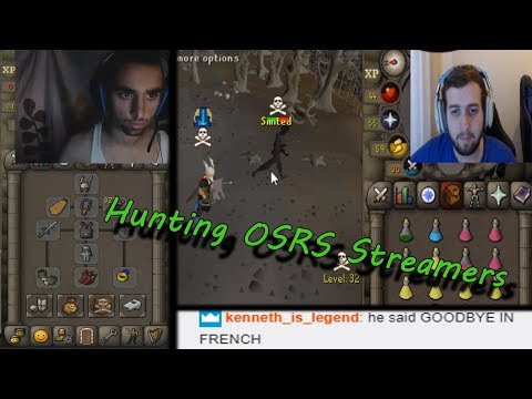 Stalking OSRS Streamers for REACTIONS! (200m+ MADE!) ft. Manked & Odablock