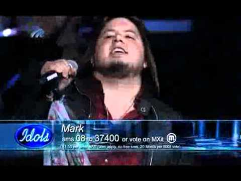 Mark Haze – Top 15 Idols – 'Sweet Child o' Mine'