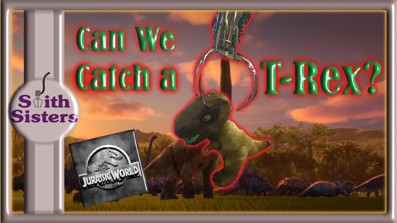 9 Arcade Claw Machine Wins (Can We Catch a T-Rex) Jurassic World Camp Cretaceous & GamerGreen