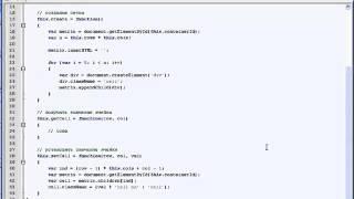 Javascript Интерактивные веб-приложения Урок 2