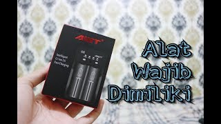 Unboxing Charger Vape AWT C2 Fast Charging