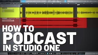 How to #Podcast in #StudioOne