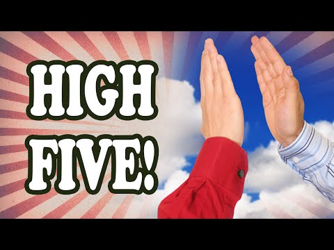 Who Invented the High Five?