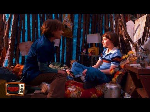 Stranger Things 1x01   Joyce Flashback in Castle Byers Scene   Clip