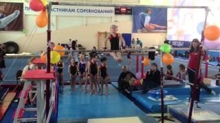 Сдюшор 33 спортивная гимнастика Жученкова Яна, брусья