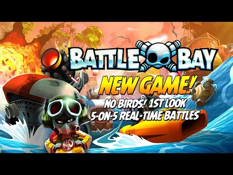 Battle Bay! NEW PvP GAME by Rovio – Real-Time, Multiplayer Online Battle Arena (MOBA) – First Look