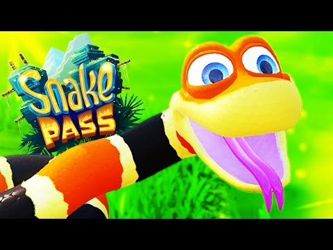 Slither, Coil, And Climb! - Snake Pass Gameplay - Snake Pass Part 1