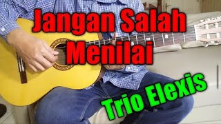 Download Mp3 Lirik Lagu Jangan Salah Menilaiku - Elexis Trio | Cover By Aldy Tunanetra Slbn K
