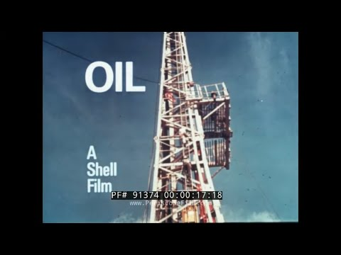 SHELL OIL PROMO FILM   OIL EXPLORATION, DRILLING, RECOVERY & REFINING NORTH SEA SAUDI ARABIA 91374