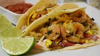 Shrimp Tacos, easy and delicious Mexican food