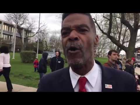 Jordan Confronts Flint Councilman Cheering Arrest For Free Speech