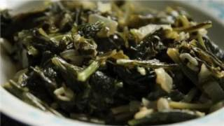 Grow. Cook. Eat. - Braised Turnip Greens