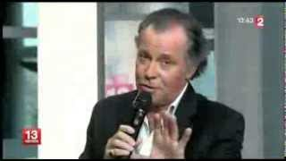 """Michel Leeb interprète """"Douce Violence"""" au JT de 13h de France 2"""