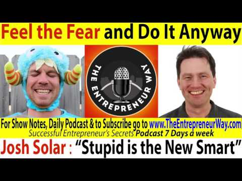 095 Feel the Fear and Do It Anyway with Josh Solar of Hello Happiness Card Co & Solar Photographers