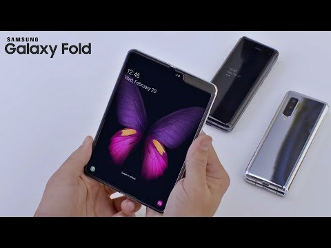 Samsung Galaxy Fold - HANDS ON Video