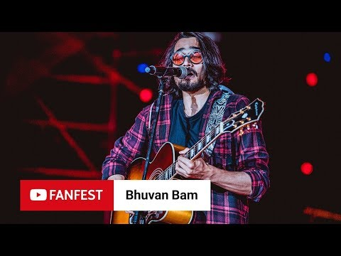 Bhuvan Bam @ YouTube FanFest Mumbai 2018