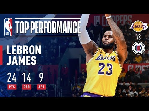 LeBron James RETURNS Against The Clippers | January 31, 2019