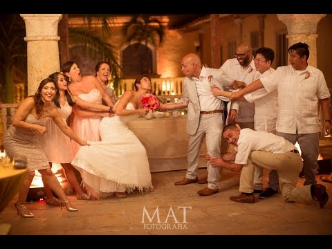 Marisol & Irving's Wedding in Cartagena, Colombia