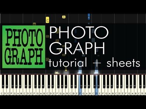 Ed Sheeran - Photograph - Piano Tutorial - How to Play + Sheets
