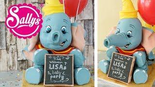 3 D Dumbo Cake / Dumbo Torte / Geburtstagstorte / Baby Torte