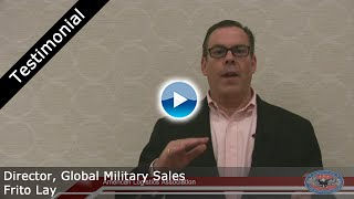 Testimonial for the American Logistics Association (ALA) - Frito Lay
