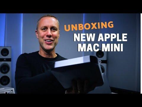 NEW APPLE MINI MAC UNBOXING - MUSIC PRODUCTION MAC | Streaky.com