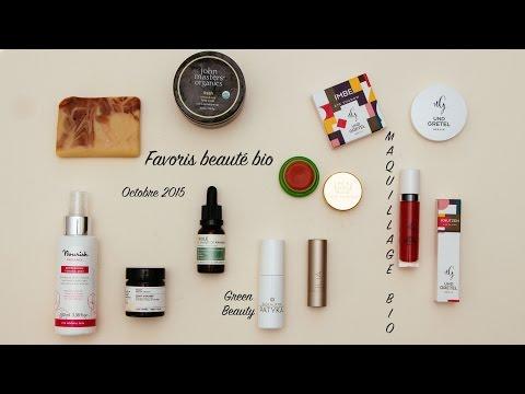 Favoris Beauté Bio - Octobre 2015