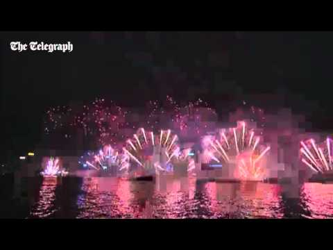 New Year fireworks 2016: watch entire Hong Kong display