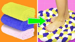8 AWESOME DIY MATS AND BLANKETS