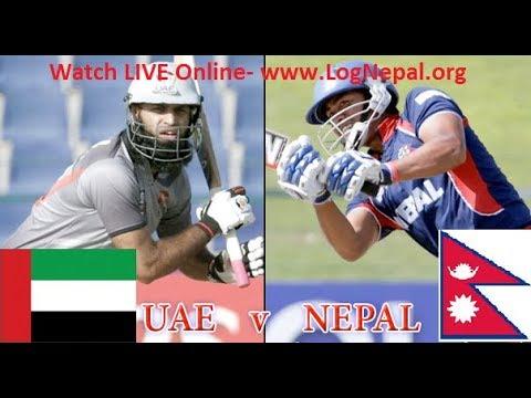LIVE STREAM NEPAL vs UAE (United Arab Emirates) | 2018 Cricket World Cup Qualifier warm-up matches