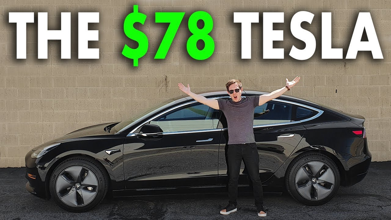 How I Bought A Tesla For 78 Per Month