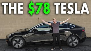 Tesla for $ 78 per month /Tax credit