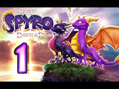 The Legend Of Spyro Dawn Of The Dragon Walkthrough Part 1 X360 Ps3 Wii Ps2 100 The Catacombs Youtube