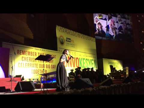 Percayalah by Indah Ruhaila (UniKL Convocation)